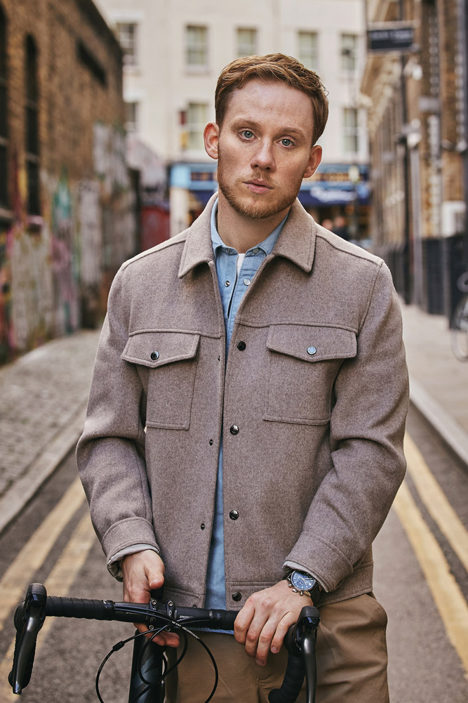 Hannah Miles Menswear and Content Photographer Joe Cole for Tag Heuer