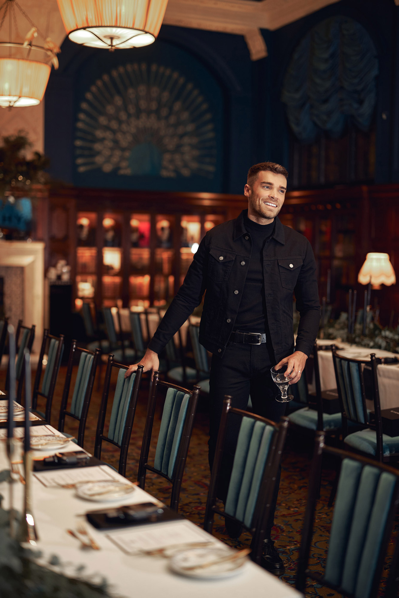 Hannah Miles Menswear and Content Photographer Josh Cuthbert for Givenchy